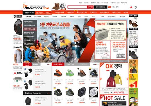 [2012 한국소비자만족지수 1위] 믿을 수 있는 아웃도어 상품 '오케이아웃도어닷컴'