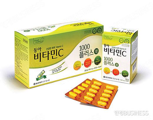 1정에 비타민C 1000㎎ 함유…아연·망간까지