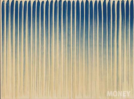 일본에서 활동하던 이우환 작가가 먼저 조명 받으면서 모노크롬 트렌드가 한국의 단색화로 확산됐다.(사진 국제갤러리)