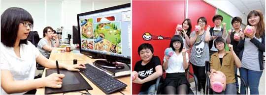 2000년 당시 최고 인기 게임이었던 '포트리스'에 도전해 '배틀마린'을 만들었던 10인의 창업 멤버들은 12년이 지난 지금까지 함께 게임을 개발하고 있다.