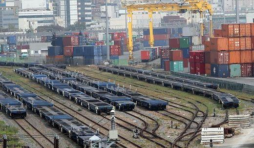 최장 '철도 파업'에 시멘트업계 피해 620억 '눈동이'