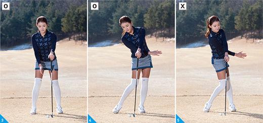 """[신나송의 골프 레슨] 몸의 흔들림을 막는 방법, """"왼쪽 어깨를 잡아라"""""""