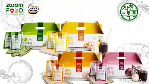 착한톡톡 건강즙 전문 브랜드