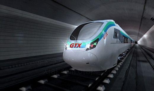 (사진) GTX 열차 예상도. /한국경제신문