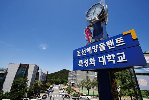1990년대 조선 산업에 필요한 엔지니어들을 교육하는 기관으로 설립된 거제대.