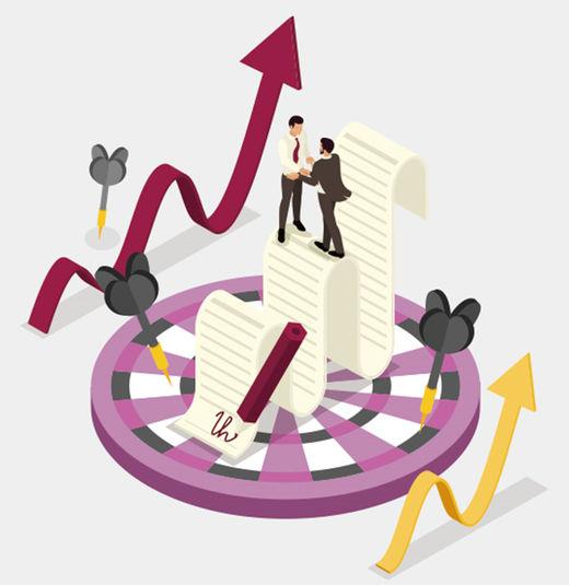 협상에서 목표 설정…많이 요구할수록 더 많이 얻는다