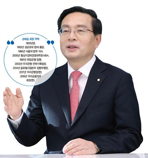 돌아온 '원조'…손태승 우리금융그룹 회장의 '1등 플랜'