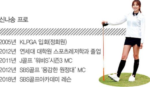 [신나송의 골프 레슨] 양팔을 완전히 모으고 백스윙을 연습하라