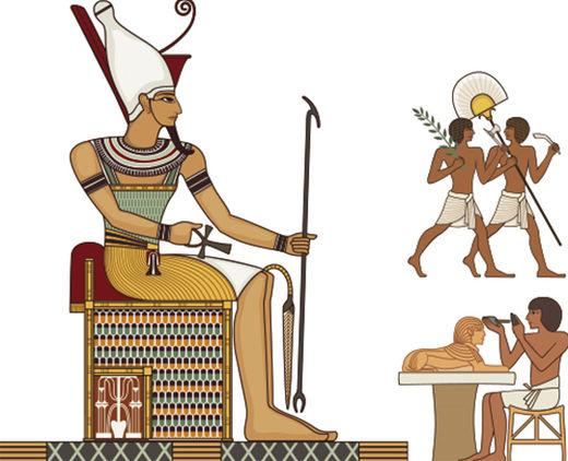 고대 이집트에서 피라미드를 쌓을 수 있었던 비결은?