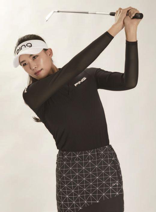 골프웨어 브랜드, 미녀 프로와 사랑에 빠지다
