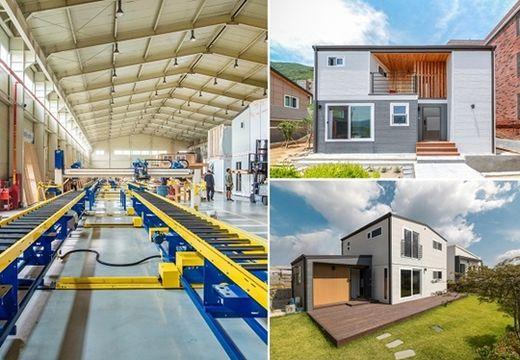 [2020 한국소비자만족지수 1위] 프리패브 목조주택 시공, 공간제작소