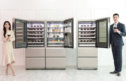 '문 여는 방향 선택' LG 시그니처 와인 셀러 신제품 출시