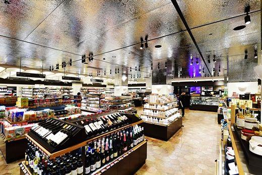 (사진) 고메이494 한남 지하 2층의 '고메이494 마켓'. /이승재 기자