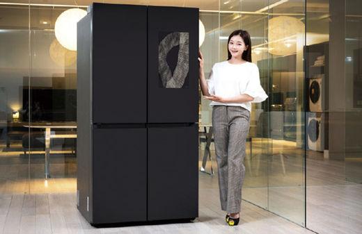 삼성전자, 식재료 자동 인식하는 비스포크 냉장고 출시