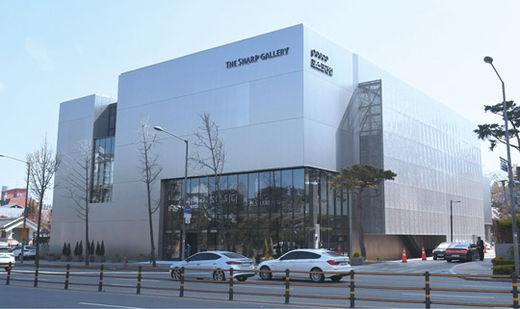 포스코건설이 서울 강남에 처음 선보인 홍보관 '더샵 갤러리'./ 포스코건설 제공