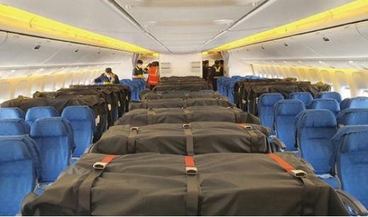 대한항공, 화물 수송 늘리자…좌석에도 화물 싣는다