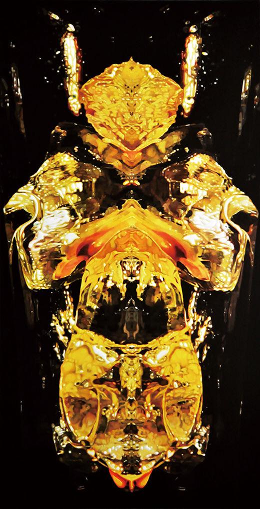The Boundary of Fantasy, 캔버스에 유채, 145×76cm, 2018년