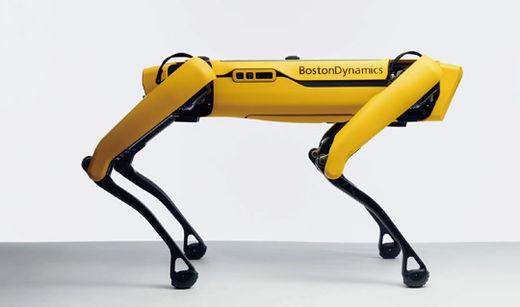 보스턴다이내믹스의 4족 보행 로봇 '스폿'.보스턴다이내믹스 홈페이지 제공