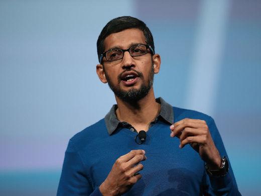 """순다르 피차이 구글 CEO """"인도 디지털 인프라 구축에 100억 달러 투자"""""""