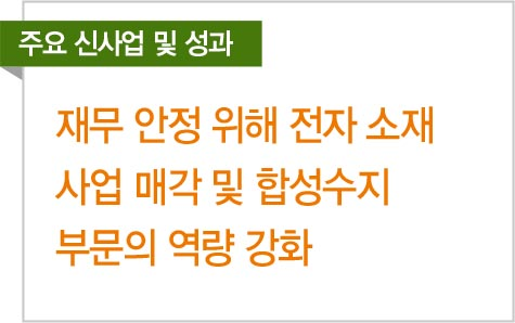 박주형 금호석유화학 상무, 재무안정·주력사업 강화 '투 트랙' 전략으로 승부
