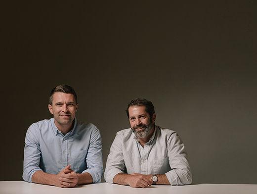 팀 브라운(왼쪽)과 조이 즈윌링거 올버즈 공동 창업자 겸 최고경영자(CEO)