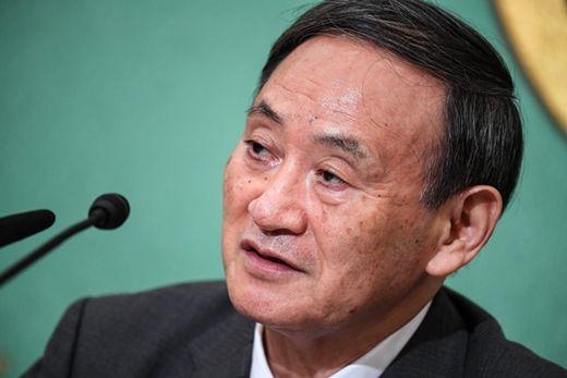 (사진) 스가 요시히데 일본 총리. /EPA 연합뉴스