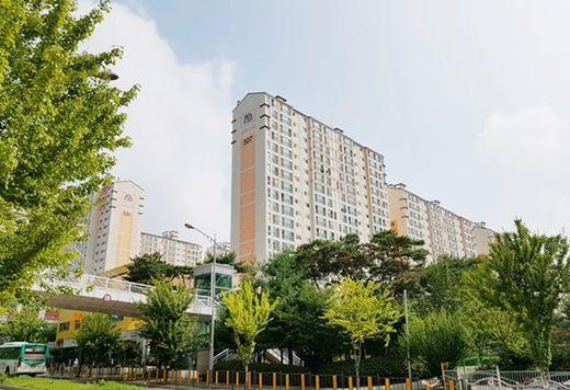 평택 청북 5차 사랑으로 부영 임대아파트 전경./ 부영주택 제공