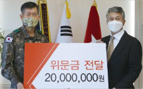 장세욱 동국제강 부회장, 36년째 인연…신속대응사단에 위문금