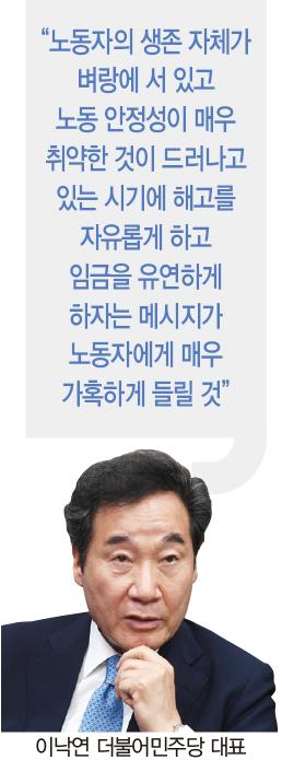 """[홍영식의 정치판] 김종인 """"기업노조, 탐욕이 만든 결과물·만악의 근원"""""""