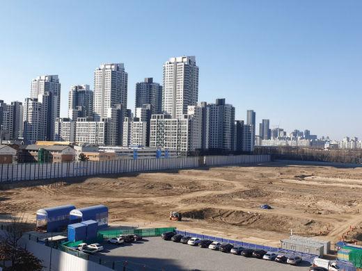 래미안 원베일리(신반포3차) 재건축 부지 전경./ 한국경제신문