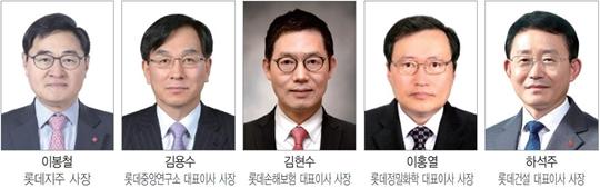롯데, 11개사에 50대 대표 선임…'뉴 롯데' 닻 올렸다