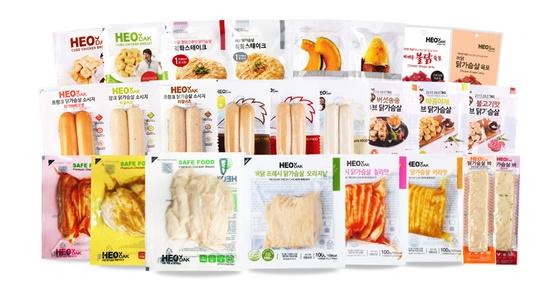[한국소비자만족지수1위] 허닭(HEODAK), 닭가슴살 전문 브랜드