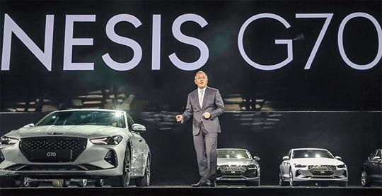 """'제네시스' 출범 3년, """"막내 'G70'가 일냈다"""""""