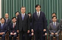 조국 임명 후폭풍 … 검찰 손에 맡겨진 정국 향방