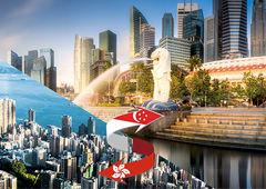 금융 허브, 홍콩 지고 싱가포르 뜨고