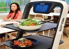 [미래형 점포] 배민, 스마트 오더로 주문하고 로봇이 서빙…레스토랑도 '비대면 시대'
